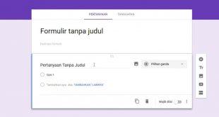 Cara Membuat Absen di Google Form Melalui Laptop