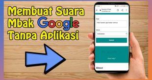 Cara membuat suCara google tanpa aplikasi