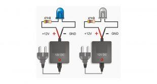 Resistor Untuk Lampu LED Tegangan AC dan DC