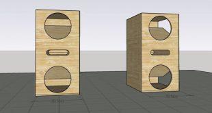 Skema Box Speaker 6 Inc Dobel